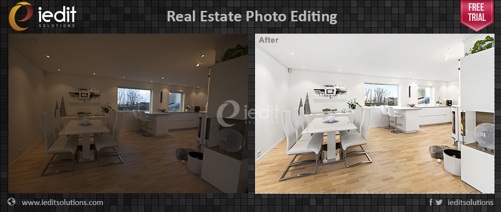 real estate hdr photo editing