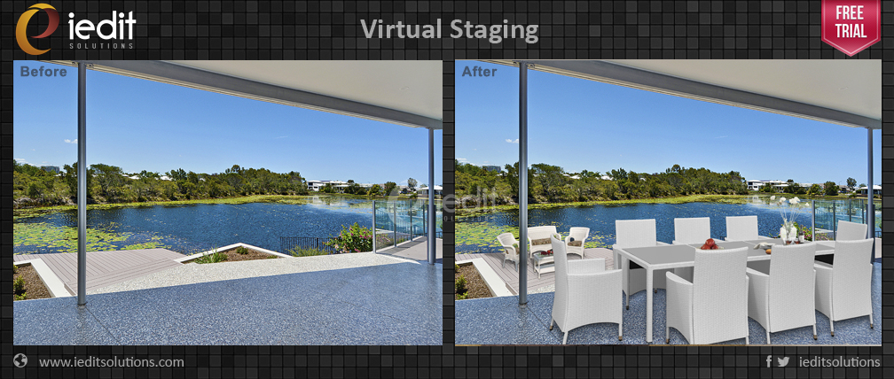 image editing and virtual staging India